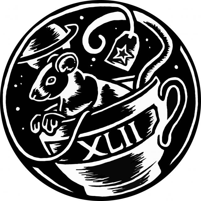 GothCon XLIIs logotype