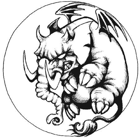 GothCon XXXIVs logotype